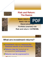 Risk n Return Basics