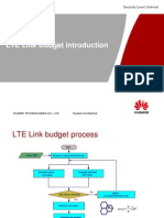 LTE Link Budget Introduction V1.0