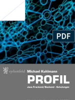 Systemfeld - Profil Michael Kuhlmann - Java, SOLR, Lucene