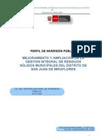 PIP San Juan de Miraflores