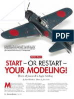 Start or Restart Your Modeling