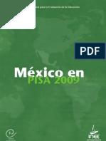 INEE - México PISA 2009 Completo