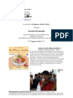 Asociación Imágenes donde Andes presenta Facetas del mundo