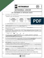 PROVA 31  - CONTADOR(A) JÚNIOR
