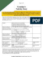 Grandpas Nativity Story