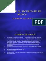 ACCIDENTE DE MUNCA