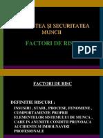 FACTORI DE RISC