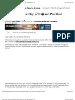Yasir Qadhi   the Fiqh of Hajj and Practical Advice for Hajj   Muslim Matters