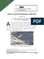 History in Bakersfield (Calif) Sidewalks, 1893-2011
