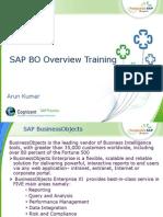 SAP BO Overview Training
