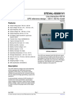 Line Interactive 450 W UPS STEVAL