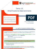 Tema 01D Amplificador Operacional