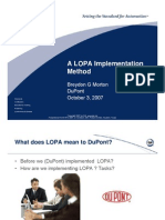 LOPA Implementation