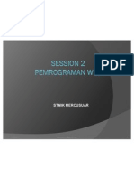 Session 2 Pemrograman Web