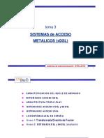 3 Sistemas Acceso Metalicos Xdsl