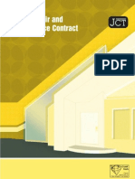 Home Repairs Maintenance Contract