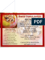 Baked Whole Apples Recipe