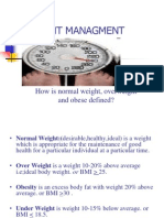 Weight Managment