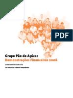 Pao de Acucar 2006