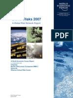 Global Risks 2007