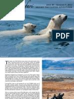 2012 Arctic Safari with Adventure Canada