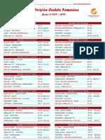 2ª División Cadete Femenina 2011-12