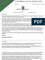 Canadian Senator Appeals for Grey Seals