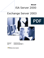 Using ISA Server With Exchange 2003