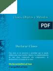 Clases, Objetos y Métodos