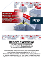 Monthly Market Watch for October 2011