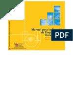 2002 Manual para la creación de empresas por universitarios[1]