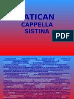VATICAN, Cappella Sistina
