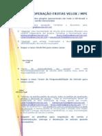 Processo Operacao Frotas Velox e Mpe