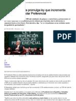 Presidente Piñera promulga ley que incrementa Subvención Escolar Preferencial _ Nacional _ LA TERCERA