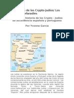 La Historia de los Crypto-Judíos Los Hispano-Sefaradíes