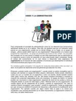 Lectura 1 - Las Organizaciones y la Administración