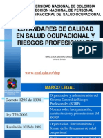 Manual de Salud Ocupacional Riesgos Profesionales Direccion Nacional de Personal
