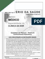 cespe-2009-ms-medico-clinica-da-dor-prova