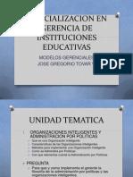 Especializacion en Gerencia de Instituciones Educativas