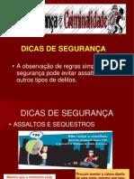 CRIME E SEGURANÇA