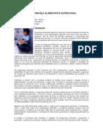 MEDIÇÃO DE SEGURANÇA ALIMENTAR E NUTRICIONAL