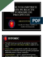 Metode Volume Trice Cu Precipitare Argentometrie