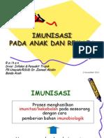 Imunisasi Pada Anak&Remaja