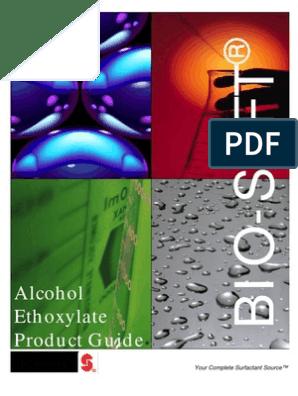 BROCHURE_ALCOHOL_ETHOX_STEPAN[1]   Surfactant   Emulsion