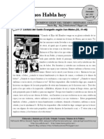 Lectio Divina 20-11-2011 Xxxiv A