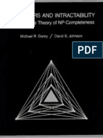 Computers and Intractability a Guide to the Theory of Np-Completeness - Michael Garey