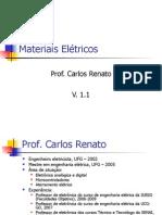 Materiais Elétricos-Condutores