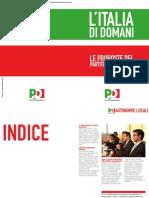Brochure Italia Di Domani