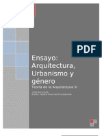 Arquitectura , urb y género...