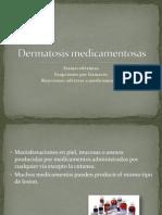 Dermatosis medicamentosas